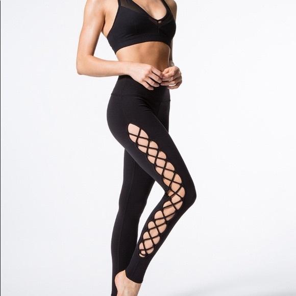 b1d89d0307 ALO Yoga Pants   Interlace Legging   Poshmark